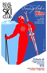 9th Annual Snowflake Wine Festival @ Revelation Lodge | Revelstoke | British Columbia | Canada