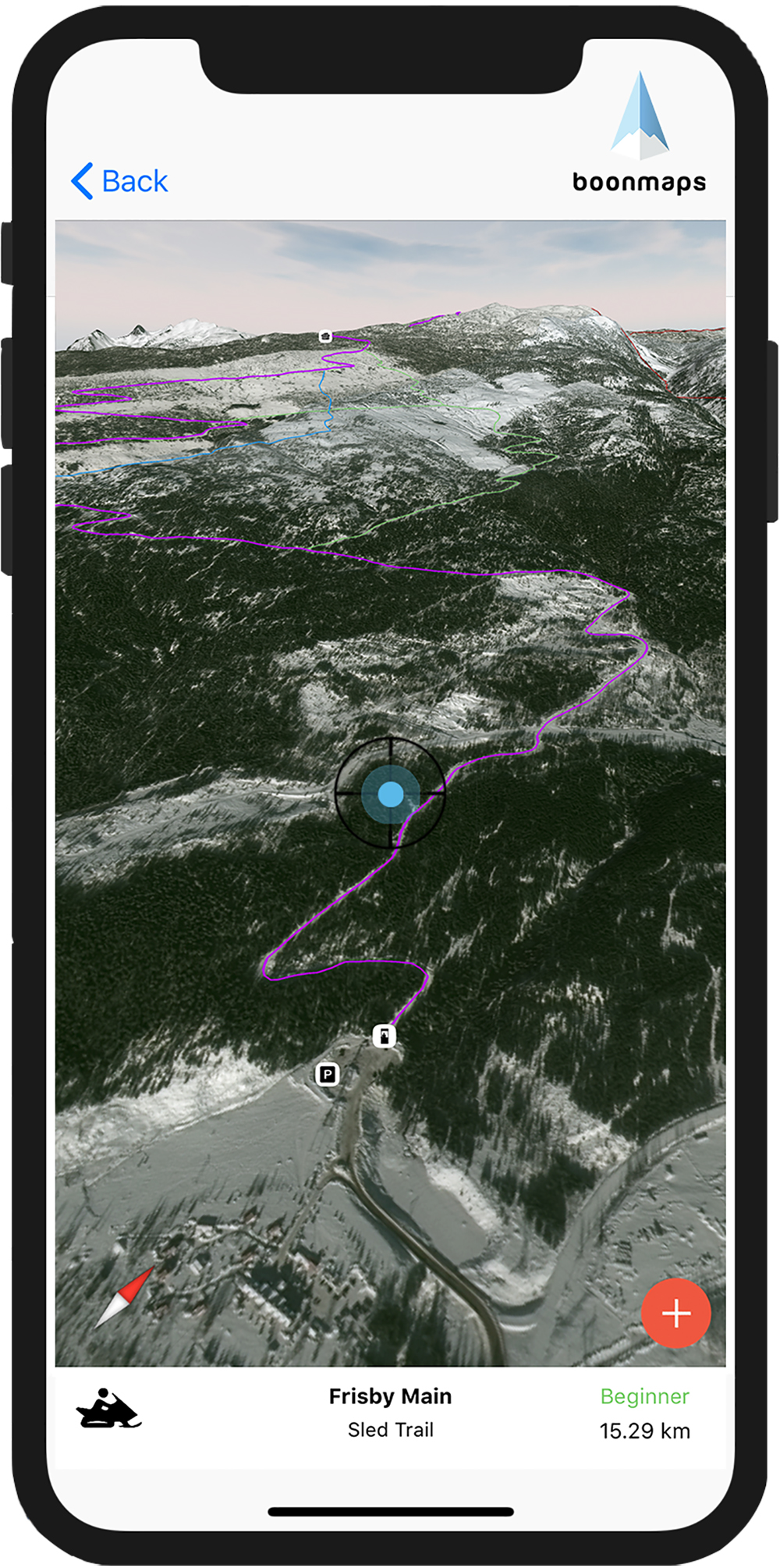 New Boonmaps app to aid backcountry navigation - Revelstoke