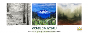 Exhibition Opening, Kids Crafts and Night Market @ Revelstoke Visual Arts Centre