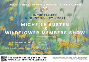 Opening Night - August Exhibiton @ Revelstoke Visual Arts Centre